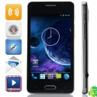"DOOGEE MOON DG130 MTK6572 Dual-core Android 4.2.2 WCDMA Bar Phone w/ 4.3"" IPS, 512MB RAM, 4GB ROM"