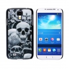 CM001 3D Skeleton Pattern Protective Plastic Back Case for Samsung Galaxy S4