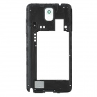 Replacement Plastic Middle Frame Rear Cover for Samsung Galaxy Note 3 / N9005 - Black