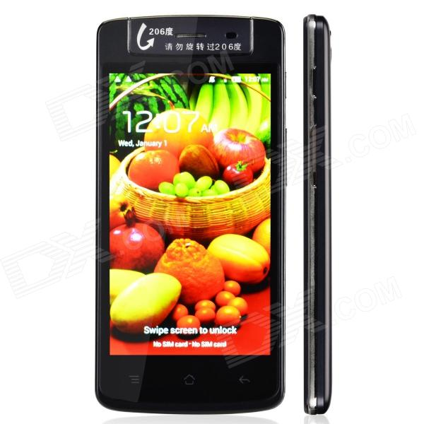 T908 Capacitive Touch Screen Android 4.2 Bar Phone w/ 4.5