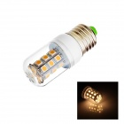 E27 4W 220lm, 2700K, 27 x 5050 SMD LED Warm White Light Bulb Lamp - Weiß (AC 220 ~ 240V)