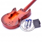 Electric Guitar Shaped Musical Toy with Stand (2*AA)