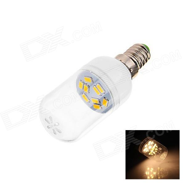 E14 5W 180lm 5500K 9 x SMD 5630 LED Warm White Energy Saving Light Bulb - White (AC 220~240V)