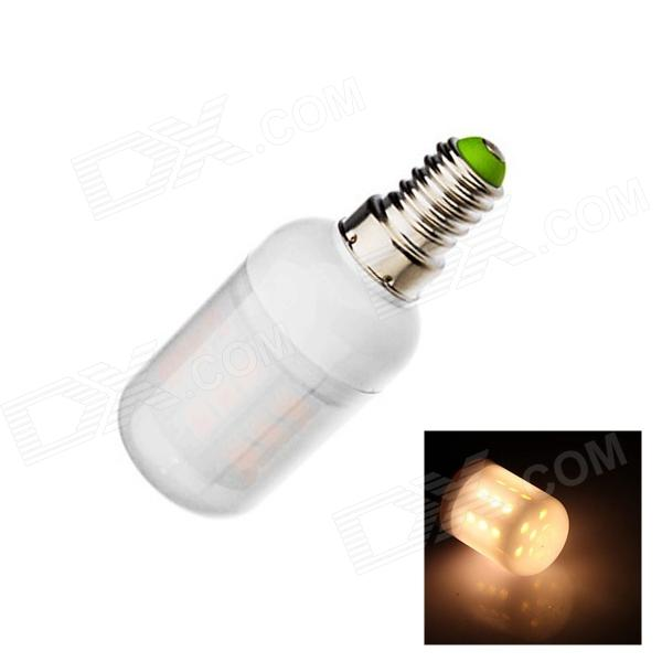 E14 5W 160lm 2500K 27 x SMD 5050 LED Warm White Spotlight Bulb - White (AC220~240V)