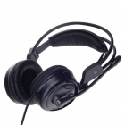 KEENION  KDM-506A Powerful Bass Headphone w / Volume Control and Microphone - Black
