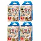 4 Packs Fujifilm One Piece Instax Mini Film