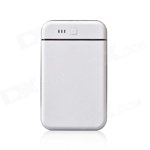 MOCREO Ultra-portable 8800mAh Power Bank External Battery Charger w/ Dual USB, LED Indicator - White me before you