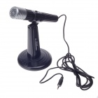 KEENION MIC-304 Stylish Wired Microphone w / Desktop Holder (3.5mm Jack)