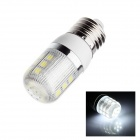 E27 5W 280lm 5500K 27 x SMD 5050 LED White Light Lamp Bulb - White (AC 220~240V)
