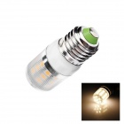 E27 5W 280lm 2500K 27 x SMD 5050 LED Warm White Light Lamp Bulb - White (AC 220~240V)