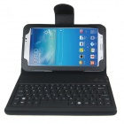 Wireless Bluethooth Keyboard Case for Samsung Galaxy Tab 3 7.0 T210 / T211 / P3200 - Black