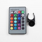 KINFIRE LED E14 3W 200lm RGB Spotlight w/ Remote Controller - Golden (85~265V)