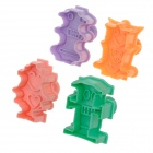 DZ-67 DIY robot Pie Crust Cortadores Primavera Press Tipo cookies Mould (4 PCS)