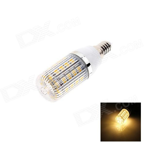 E14 5W 230lm 2500K 36 x SMD 5050 LED Warm White Light Lamp Bulb - White (AC220~240V)