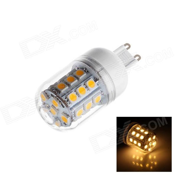 G9 4W 260lm 2500K 29 x SMD 5050 LED Warm White Light Lamp Bulb - White (AC 220~240V) hi fi стойка solid tech radius solo 4 silver black