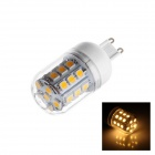 Buy G9 4W 260lm 2500K 31 x SMD 5050 LED Warm White Light Lamp Bulb - (AC 220~240V)