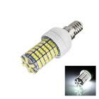 E14 5W 210lm 5500K 144 x SMD 3528 LED White Light Lamp Bulb - White (AC 220~240V)