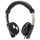 Kanen IP-2000 Retro Style Headphones w/ Microphone - Black (3.5mm Plug / 1.5m)
