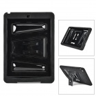 Protective PC + PE Holder Case for IPad Air - Black