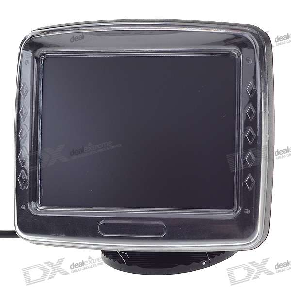 Embedded Parking Video Camera with 3.5 LCD Receiver Set (DC 12V/NTSC)