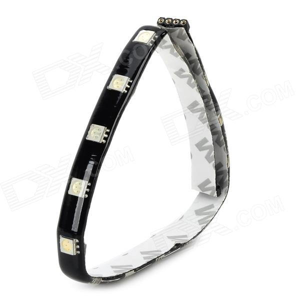 4.5W 18-SMD 5050 LED Red Light Car Light Strip (12V)