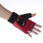NINJA N6401 Boxing Finger Gloves - Red + Black (Pair / Size-L)