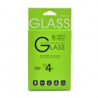 2.5D Front Premium Tempered Glass Membrane Screen Protector for IPHONE 4s - Transparent