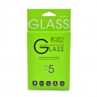 Flat Sheet 0.3mm Premium Tempered Glass Membrane Screen Protector for IPHONE 5 - Transparent
