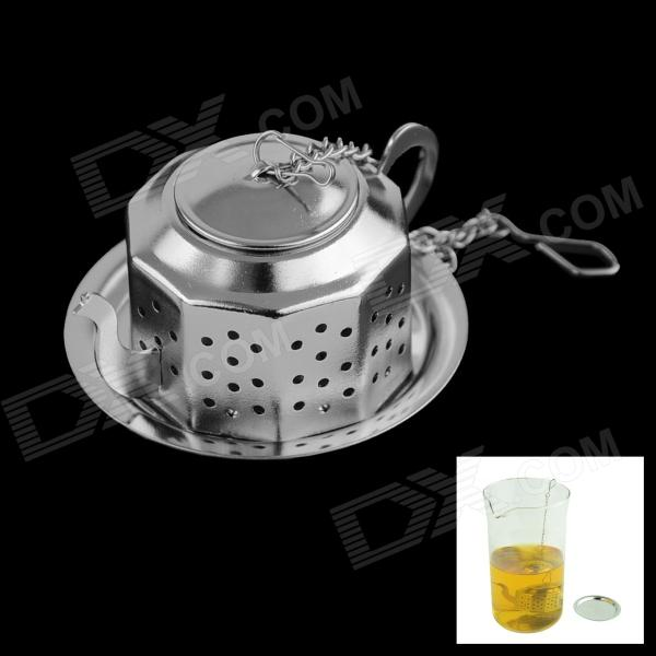 Stainless-steel Tea Filter - Silver
