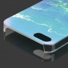 Embossed iridescent nuage motif protection PC cas pour IPHONE 5 / 5S