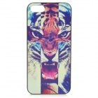 Relief Tiger Cross Style Protective Plastic Back Case for IPHONE 5 / 5S - Multicolor