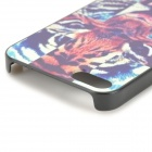 Alivio Tiger Cross Estilo protectora de silicona para IPHONE 5 / 5S - Multicolor