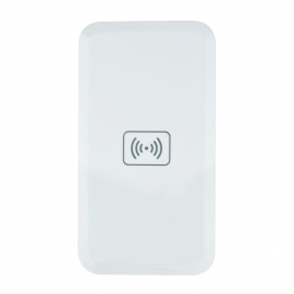 Slim Universal Qi Standard Mobile Wireless Charger - White