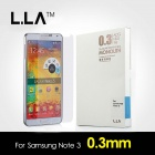 L.LA NT3-03 Protective Film 0.3mm Anti-Explosion Tempered Glass Screen Protector for Samsung Note 3