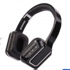 OYK Wireless Headband Bluetooth V3.0 Stereo Headphone - Black