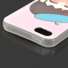 Protective Noctilucent TPU Case for iPhone 5 / 5s