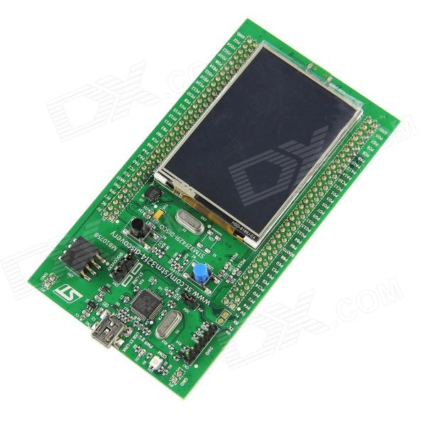STM32F4 Discovery Kit for SMT32F429 with 2.4 QVGA TFT LCD / STM32F4 Discovery Upgrade Board - Green module stm32 discovery m24lr discovery m24lr stm32 board powered by rfid stm8l152 and stm32f103 onboard