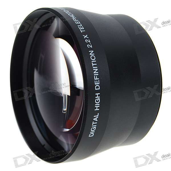 Sakar 72mm 2.2X Telephoto Lens Filter Set