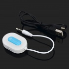 Universal Bluetooth v3.0 + EDR Receptor de audio w / Hands-Free / 3.5mm Plug - Blanco + Azul