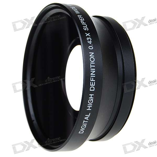 Sakar 72mm 0.43X Wide Angle Lens Filter Set