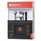 BIDENUO Universal In-Ear Earphones w/ Microphone for HTC / IPHONE / Samsung - Black