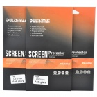 DULISIMAI High Quality Matte PCC Screen Protector for LG G Flex - Transparent (3PCS)