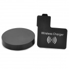 Mini Qi Standard Wireless Charger Emitter + Wireless Charging Receiver Set for Samsung S4 i9500