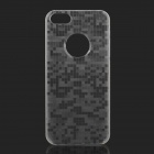 Protective Mosaic Style Grow-in-the-Dark Back Case for IPHONE 5 / 5s - Translucent White