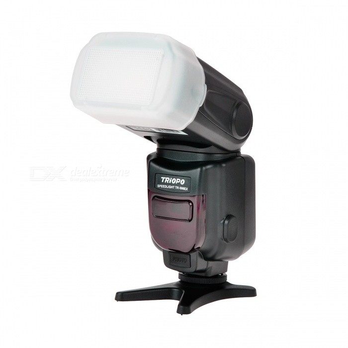"TRIOPO TR-586EX 2.1"" LCD Auto Zoom TTL Wireless 1-LED Speedlight for Canon - Black"