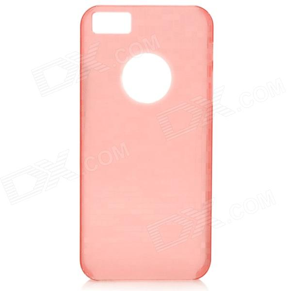 Glow-in-the-Dark Mosaic Style Protective Plastic Back Case for IPHONE 5 / 5S - Red usams crown series glow in dark perfume tpu back case for iphone 6 4 7 green white