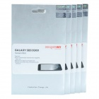 DiscoveryBuy HD Screen Protector for Samsung Galaxy S3 i9300 - Transparent (5 PCS)