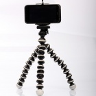 2-In-1 Multi-Function Octopus Style Tripod for Cell Phone / Camera - Black + White