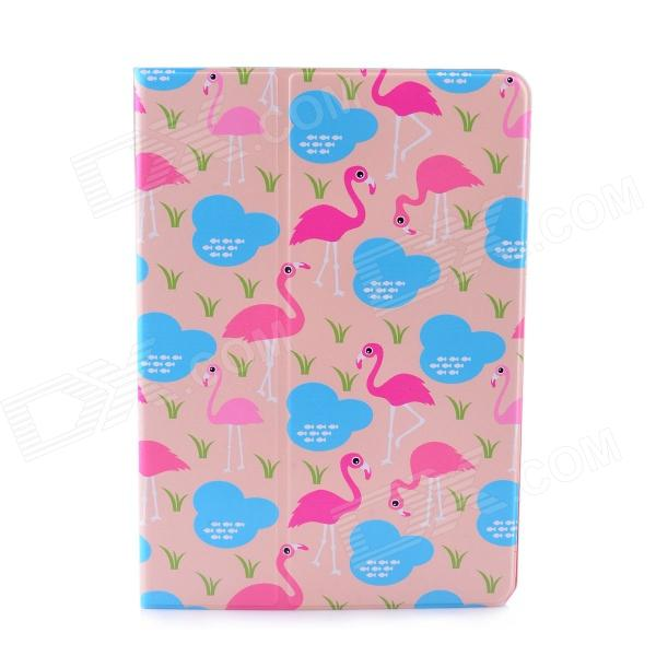 Lofter Flamingo Family Illustration Protective Case for IPAD AIR