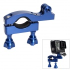 Fat Cat High Precision CNC Aluminum Fast Bike Mount Handle Bar for GoPro Hero3+/3/2/1/SJ4000 - Blue